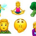 Amamentação, duendes, gênios e pessoas trans. Confira os novos emojis!
