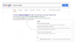 google Seo e-commerce
