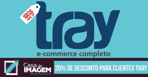 20% de Desconto para Logista Tray E-commerce