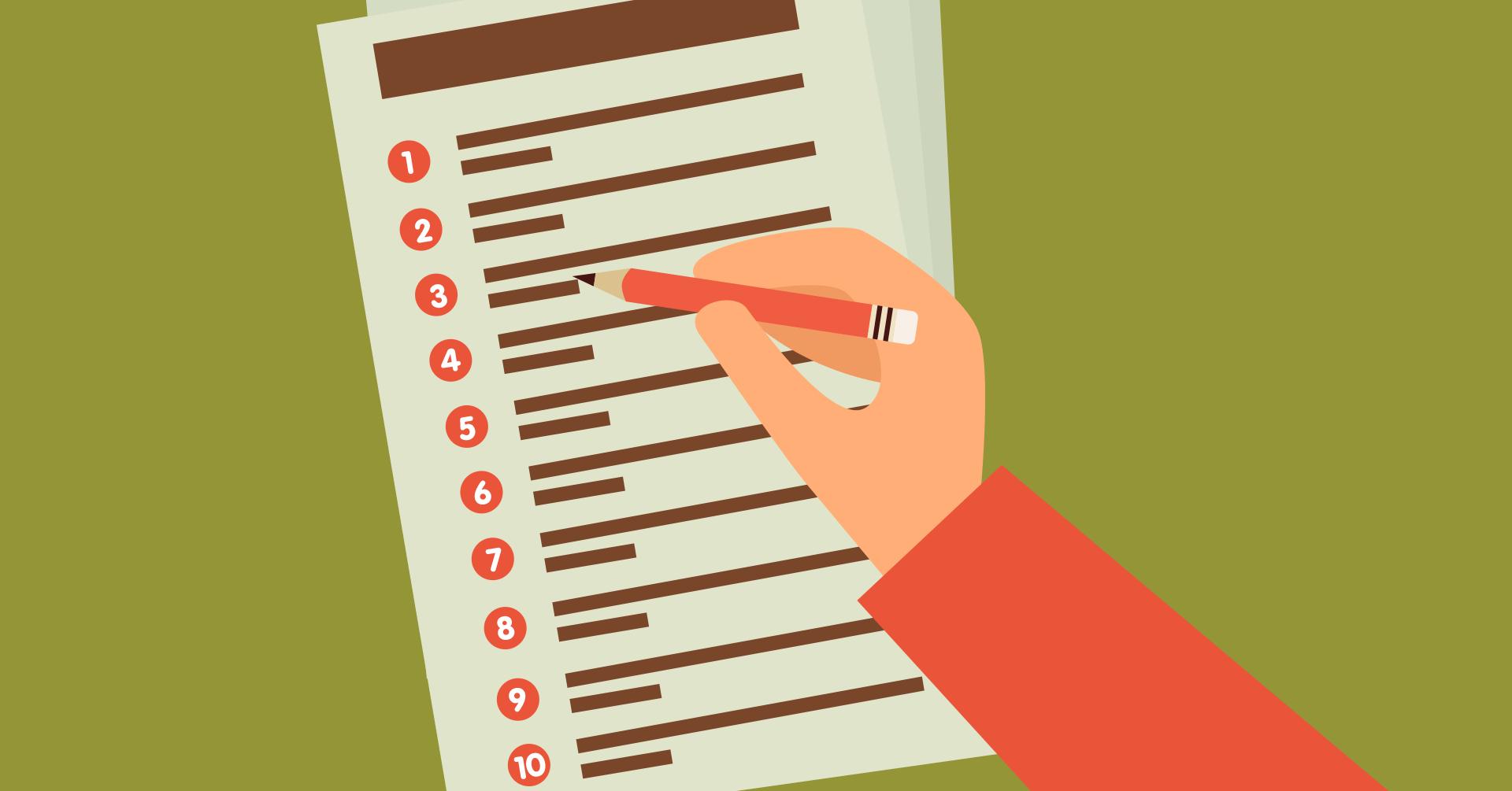 porque listas fazem sucesso?