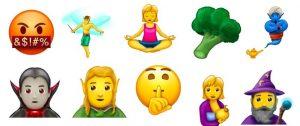 Novos emojis Facebook e Whatsapp