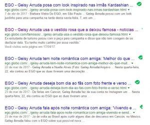 Geisy Arruda busca google